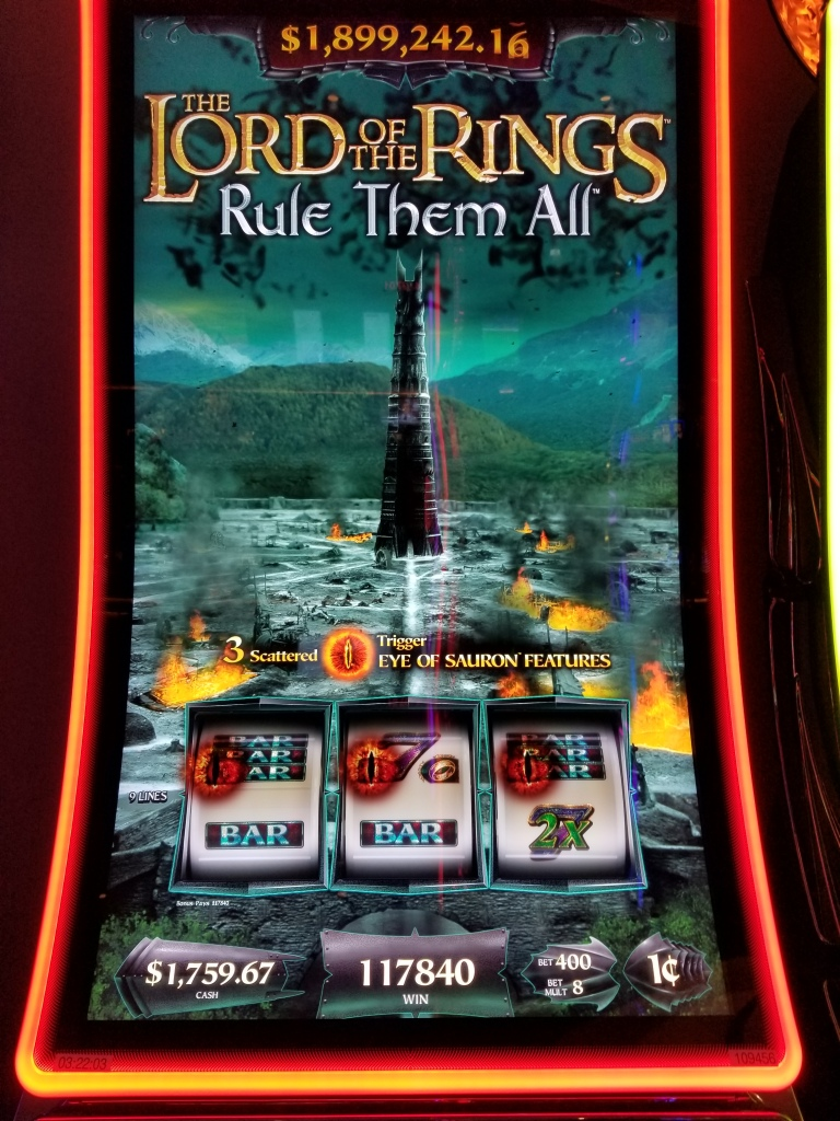 Lord Of Rings Slot Machine