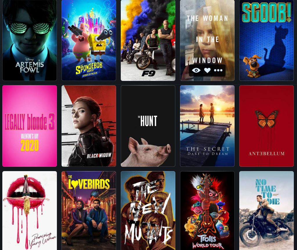 movies coming soon spring challenge theaters pandemic planned viewing title changed