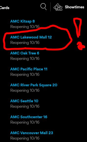 Amc Reopening More Theaters Shortened Theatrical Window Cited As Key Competitive Advantage Movies Movies Movies Amc southcenter 16 is situated nearby to tukwila. movies movies movies